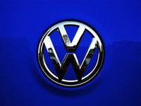 ES#3096577 - K38RE12 - Rear Badge Inlay - Deep Blue Pearl - 1-piece full circle badge inlay that requires removal of the badge for installation - Klii Motorwerkes - Volkswagen
