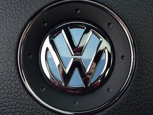 ES#3102339 - K45SW4 - Steering Wheel Badge Inlay - Shark Blue Metallic - 5-piece badge inlay set for your steering wheel emblem - Klii Motorwerkes - Volkswagen