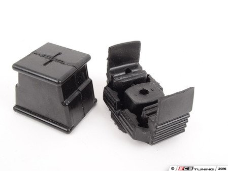 ES#3021993 - EBFISTG1T-4 - BFI Stage 1 Polyurethane Transmission Mount Inserts - Upgrade your transmission mount and put more power to the ground while experiencing smoother shifting - Black Forest Industries - Volkswagen