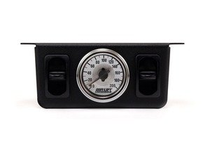 ES#1895423 - 26229 - Dual Needle Gauge with two paddle switches- 200 PSI - Can be used to monitor and control manual air ride management systems. - Air Lift - Volkswagen