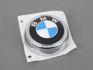 "ES#205820 - 51147196559 - Emblem - BMW ""Roundel"" for Hatch - Genuine BMW - BMW"
