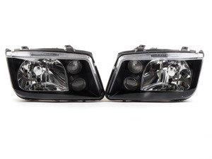 VW Jetta SPEC-D Black Headlight