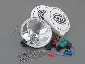 ES#3090505 - 010032801 - Hella 700FF Driving Lamp Kit - Light up the road ahead and make a statement! - Hella - Audi BMW Volkswagen Mercedes Benz MINI Porsche