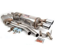 ES#3026156 - 781523-781326 - Euro Supersprint Performance Exhaust System - 100% handcrafted in Italy. Stainless steel construction. Legendary Euro sound! - Supersprint - BMW