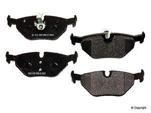ES#10399 - D1245m - Rear Metal Master Brake Pad Set - Non-asbestos, semi-metallic compound provides the highest fade resistance. - PBR - BMW