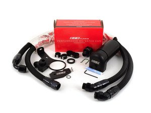 ES#2996743 - 016901ECS01-01KT -  ECS Tuning Baffled Oil Catch Can System - Everything needed to keep your intake tract clean and oil free! - ECS - Volkswagen