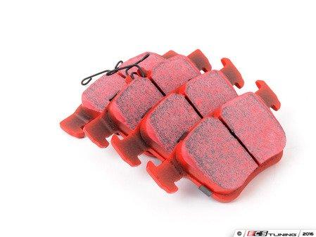 ES#3063666 - DP32153C - Rear RedStuff Performance Brake Pad Set - High performance street pad, featuring Kevlar technology - EBC - Audi Volkswagen