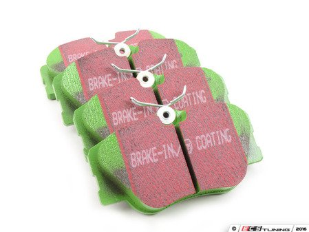 ES#520043 - DP2577 - Front GreenStuff Performance Brake Pad Set - Designed as a mildly upgraded pad, great for an afternoon of sporty driving. - EBC - Mercedes Benz