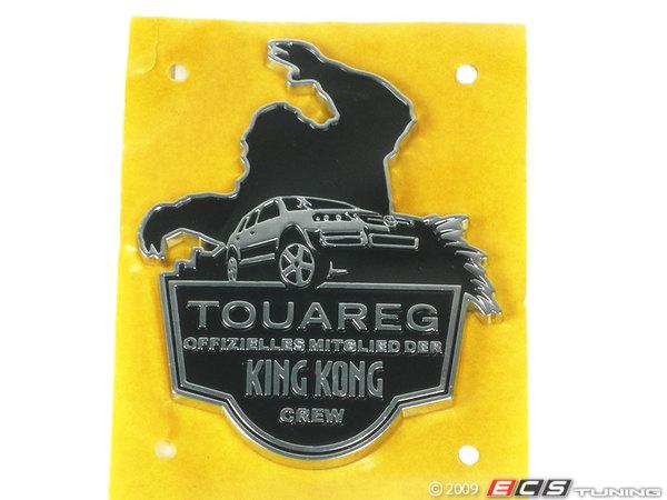 7l6853621fxc touareg king kong crew badge es 10392. Black Bedroom Furniture Sets. Home Design Ideas