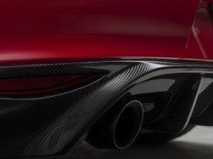 ES#3570685 - 014281ecs02-01KT -  Carbon Fiber Rear Diffuser - Rear diffuser for GTI models made from real carbon fiber - ECS - Volkswagen