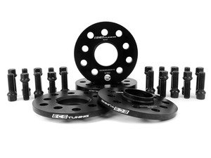 "ES#3102837 - 010425ECS01KT3 - Wheel Spacer Flush Fit Kit - Black Bolts - Includes spacers & Black bolts to obtain a flush look on your OE 18"" wheels - Assembled By ECS - Audi"