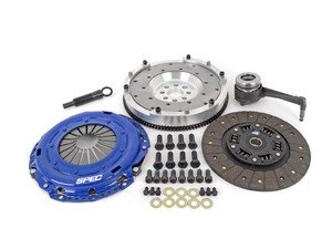 ES#2575740 - SV871-281AKIT - Stage 1 Clutch Kit - Aluminum Flywheel (9lbs) - Streetable clutch holds up to 350 FT LBS TQ - Spec Clutches - Volkswagen