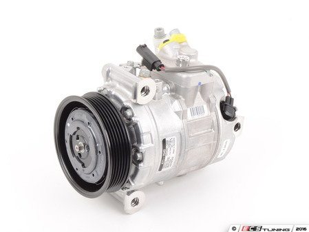 ES#2848174 - 64522147460 - Air Conditioning Compressor - New With Clutch - Keep your cool - Denso - BMW