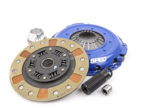 ES#3034291 - SB533H-2 - SPEC Stage 2+ Performance Clutch Kit (for SPEC single-mass flywheel) - Carbon/semi-metallic and Kevlar clutch disc and HD pressure plate