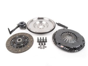 ES#3021852 - BFI20T240ST1 - BFI Stage 1 Clutch Kit - Forged Steel Flywheel (18.85lbs) - Includes a lightweight 4140 forged steel flywheel, performance pressure plate and full faced steel back clutch disk. Rated for 290wtq. - Black Forest Industries - Volkswagen
