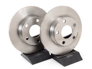 "ES#2818 - 4B0615601BKT4 - Rear Brake Rotors - Pair (255x10) 1.50"" Offset - Restore the stopping power in your vehicle - Pilenga - Audi"