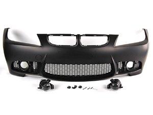 ES#2167908 - E90M3FTBUMP - M3 style Bumper Conversion - Front - M3 looks without the M3 cost! - ECS - BMW