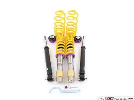 ES#2215082 - 10220038 - KW V1 Series Coilover Kit - Touring Models Without Rear Air Suspension - Variant 1 coilovers offer the best balance between sporty driving and comfort - KW Suspension - BMW