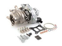 ES#3086203 - 06K145722HKT - IS38 Turbo Upgrade Kit - Includes OEM Golf R / S3 IHI IS38 turbocharger and all required installation hardware. - Assembled By ECS - Audi Volkswagen
