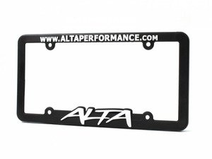 ES#3103065 - ASMBDY501 - License Plate Frame ALTA - Get the plate to match your mods - Alta Performance - MINI