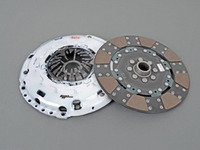 ES#2918672 - 02992-HDFF-R - FX350 Clutch Kit - Stage 3+ - Fiber Tough lined, rigid hub clutch disc with heavy duty pressure plate, Rated for 490ft/lbs. - Clutch Masters - Audi