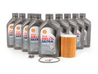 ES#3106723 - E965SVCKT4 - Inspection I/Oil Service Kit - Everything needed for a basic oil service including Shell Helix Ultra Racing oil - Assembled By ECS - BMW