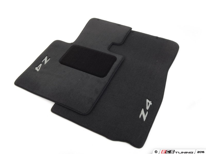 Genuine Bmw 82110152598 Carpeted Floor Mat Set Black