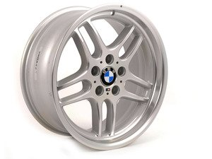 "ES#2535431 - 36112229730KT - 18"" M Parallel Style 37 Wheels - Square Set Of Four - 18x8 ET13 72.6mm CB - Genuine BMW - BMW"