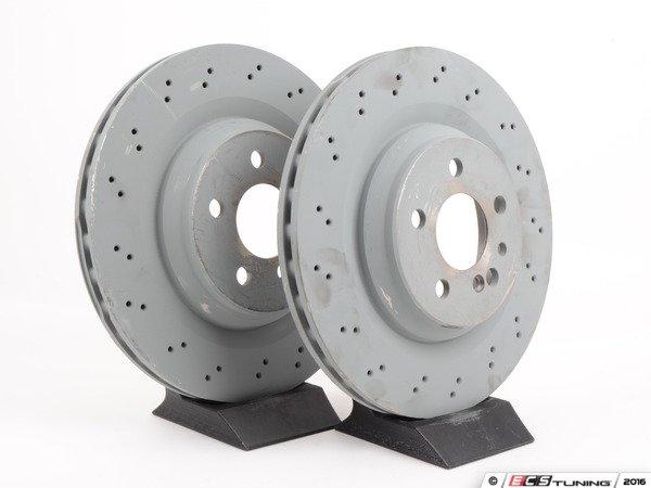 Genuine mercedes benz 220421191264kt front brake for Mercedes benz rotors