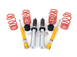 "ES#2515428 - 54704 - Street Performance Coilover Kit - Average lowering of 1.0""-2.2""F 0.8""-2.0""R - H&R - Volkswagen"