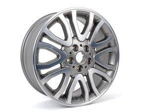 "ES#2798655 - 36116855113 - 504 MINI Vanity Spoke Wheel 18"" (5x112) Silver - Priced Each - 7J X 18 ET:54 - MINI Yours Wheel - Genuine MINI - MINI"
