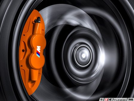 ES#2796263 - E9XMPBBKT3 - M Performance front big brake kit - orange - Upgrade to M Performance calipers and 370x30mm front rotors - Assembled By ECS - BMW