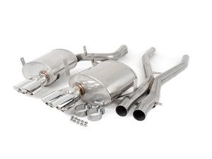 ES#3478447 - cor14931sKT - Corsa Sport Exhaust System - Silver Tips - An aggressive muscle car sound without the drone - Corsa - BMW
