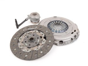 ES#2834673 - 06J141015JX - Clutch Kit - Includes clutch disc, pressure plate, and throwout bearing - Sachs - Audi Volkswagen
