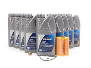 ES#2863123 - 6421800009KT2 - OM642 Bluetec Oil Change Kit - Featuring Pento High Performance II 5W-40 Engine Oil - Assembled By ECS - Mercedes Benz