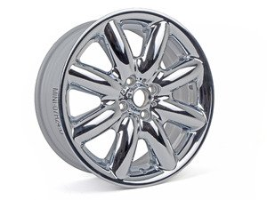 "ES#65061 - 36116778962 - R85 MINI S-Spoke Alloy Wheel 17"" (4x100) Chrome - Priced Each - 17 x 7 ET:48 - Genuine MINI - MINI"