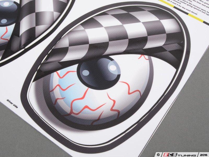 BMW M7 Price >> M7 Speed - 92-9006 - M7 Eye Decal Set - Checkered Flag