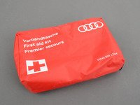 ES#2723527 - 4L0093108C - First Aid Kit - Contains all the essentials for any minor medical emergency. - Genuine Volkswagen Audi - Audi