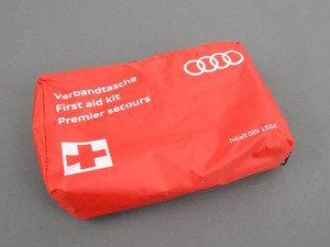 ES#395550 - 4L0093108B - First Aid Kit (NO LONGER AVAILABLE)  - Contains all the essentials for any minor medical emergency. - Genuine Volkswagen Audi -