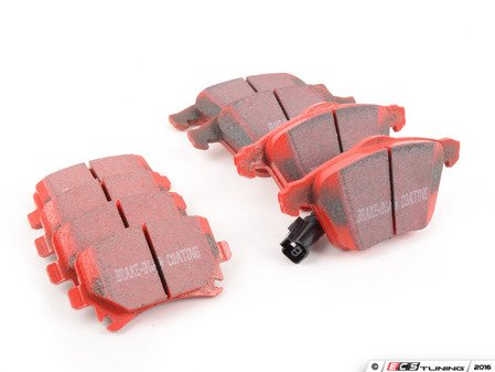 ES#2992553 - dp31946cKT - Front & Rear RedStuff Performance Brake Pad Kit - High performance street pad featuring Kevlar technology, includes front and rear pads - EBC - Audi