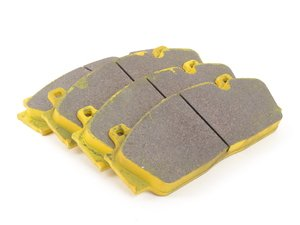 ES#3647387 - 4934rs29 - RSL29 Yellow Endurance Racing Brake Pads - Front - Popular street and endurance racing pad. Same friction material used in several European racing series. - Pagid Racing - BMW