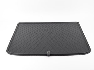 ES#2971338 - 51472408527 - Fitted Luggage Compartment Mat - Black - Lines the upper storage area of the trunk - Genuine MINI - MINI