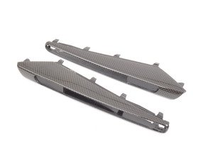 ES#3062384 - BM-0210 - Carbon Fiber Fender Side Grill Trim Set  - Add a bit of style to your M3! - AUTOTECKNIC - BMW