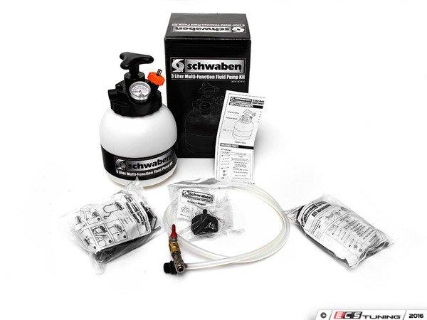 ES#2774836 - 007311SCH01A - 3-Liter Multi-functional Filler System - Complete ATF/Oil/DSG filling system and Brake bleeding system all in one kit. - Schwaben - Audi BMW Volkswagen Mercedes Benz MINI Porsche