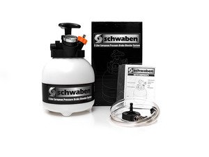 ES#2774831 - 007237SCH01A - 3-Liter European Pressure Brake Bleeder - Pressure bleed or flush your brake system on your European car like a pro with Schwaben's brake bleeding system. - Schwaben - Audi BMW Volkswagen Mercedes Benz MINI Porsche