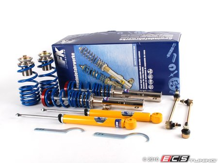 ES#248249 - FKXVW36 - Silverline Coilover System - Fixed Dampening - Corrosion resistant bodies for your B6 Passat. Height adjustment from 30-65mm's. - FK -