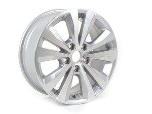 """ES#2742130 - 5G06010258Z8 - 16"""" Toronto - Priced Each  - 16""""x6.5"""" ET46 5x112 - Diamond Silver - Genuine Volkswagen Audi - Volkswagen"""