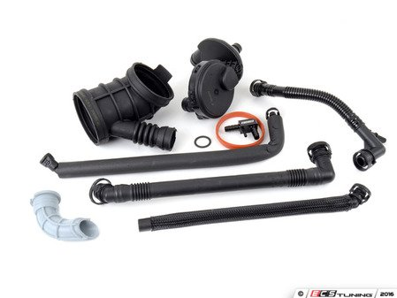 ES#3108048 - E46M54OSW3KT2 - Oil Separator Kit - Level 2 - A truly complete kit for oil separator system maintenance, Includes ECS F-Connector - Assembled By ECS - BMW
