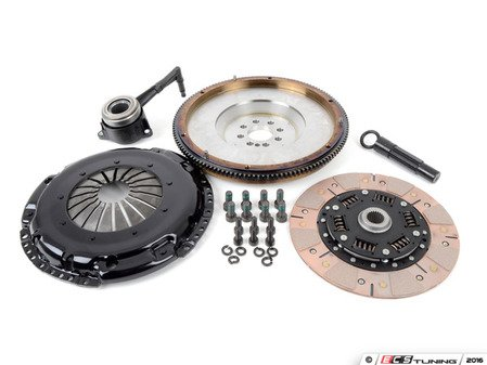 ES#3021854 - BFI20T240ST3 - BFI Stage 3 Clutch Kit - Forged Steel Flywheel (18.85lbs) - Includes a lightweight 4140 forged steel flywheel, performance pressure plate and ceramic clutch disk. Rated for 450wtq. - Black Forest Industries - Volkswagen