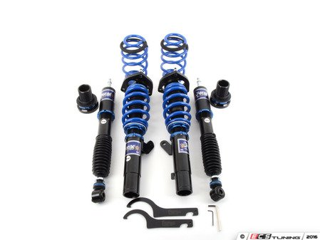 """ES#3106522 - FMSUS-MK6 - Forge Performance Coilover System - 2"""" drop without removing collars, features 32 level adjustable dampening and fully adjustable pillow-ball upper mount camber plates - Forge - Audi Volkswagen"""